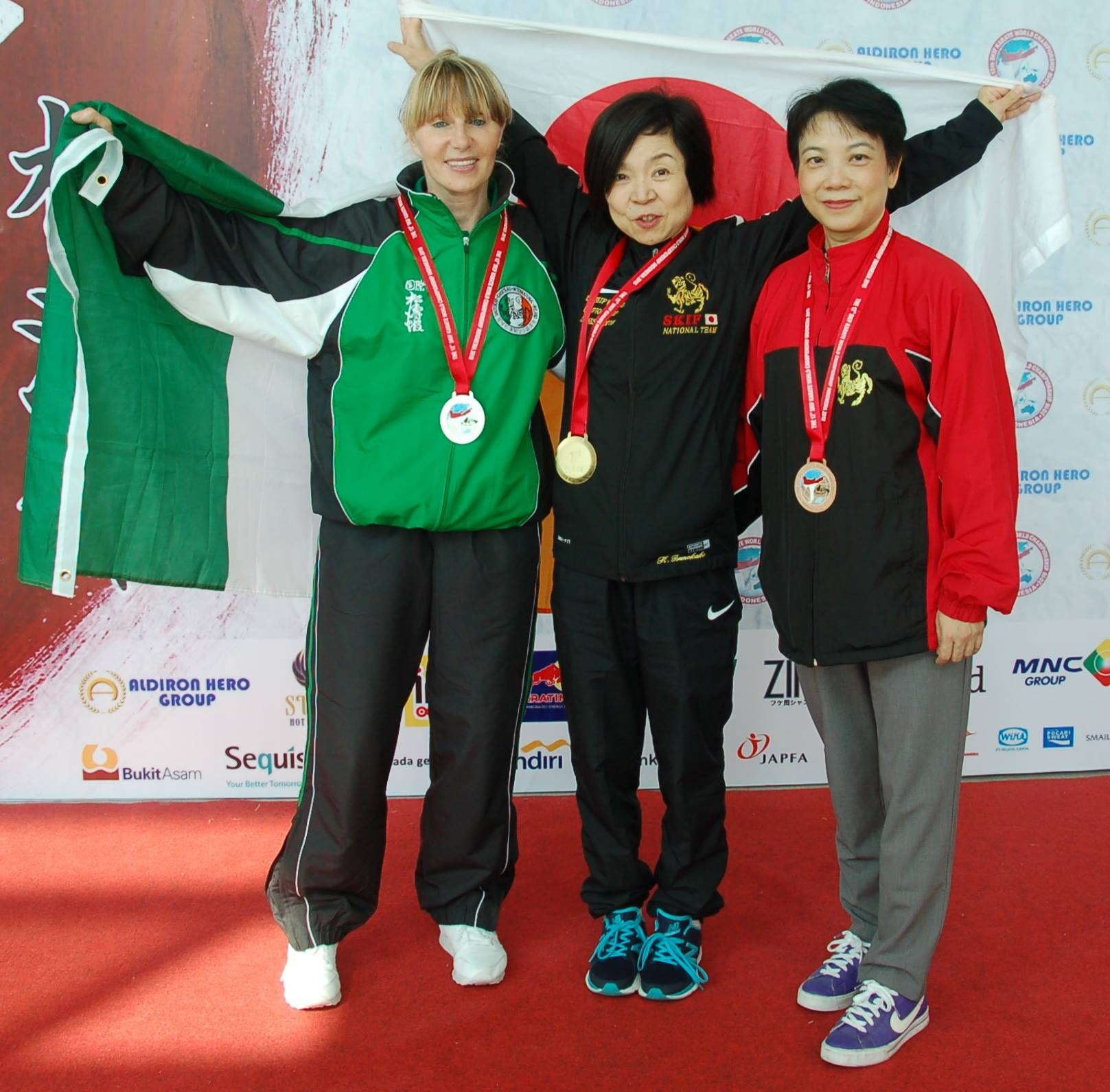 2016 - Silver for Jacqui O Shea at 12th SKIF World Championships in Jakarta Indonesia