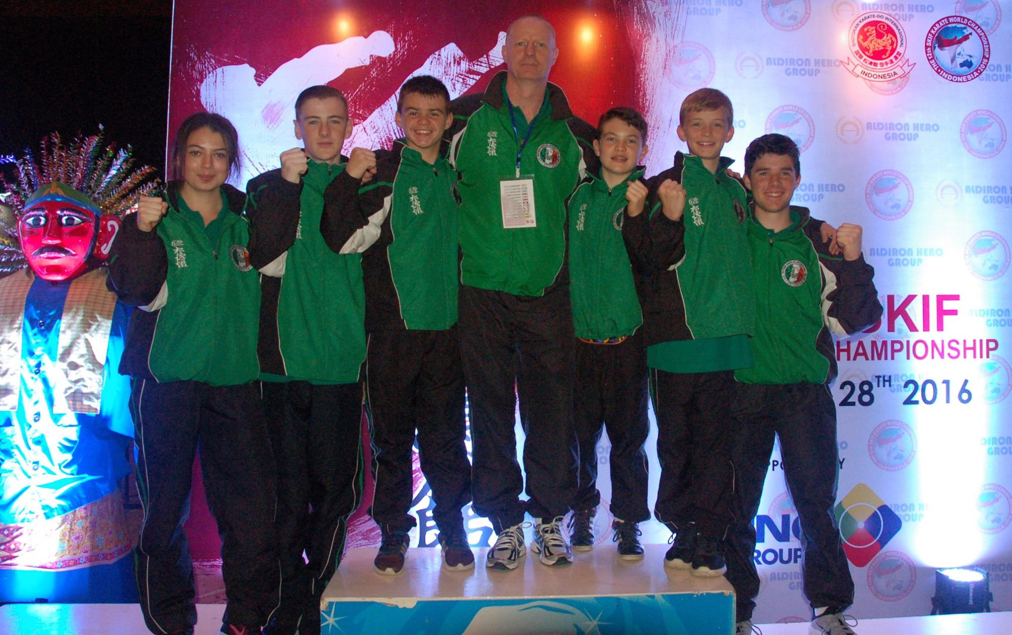 SKIF Ireland Juniors get first World Championships Experience at the 12th SKIF World Championships in Jakarta Indonesia in August 2016