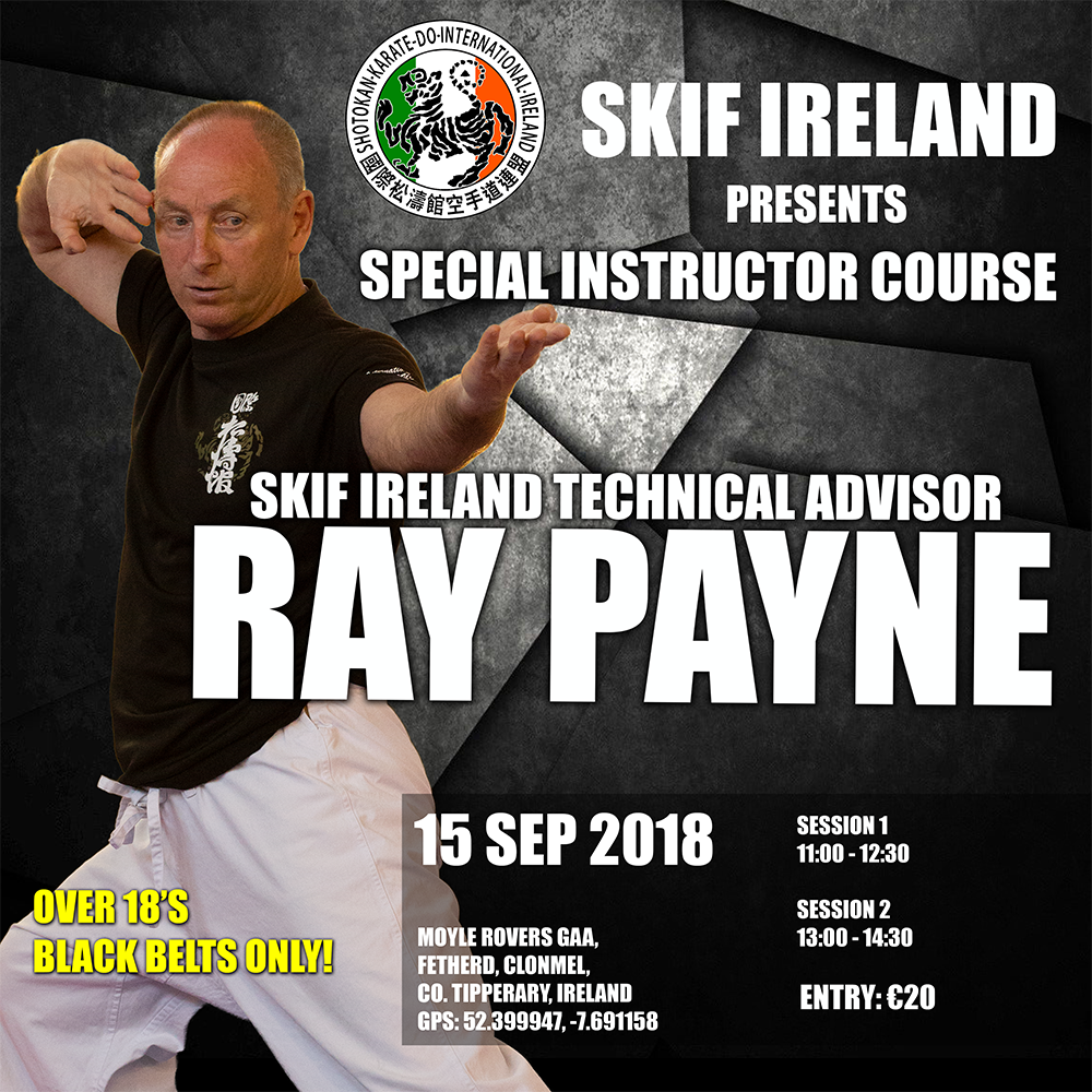 2018 Ray Payne Special Instructor Course