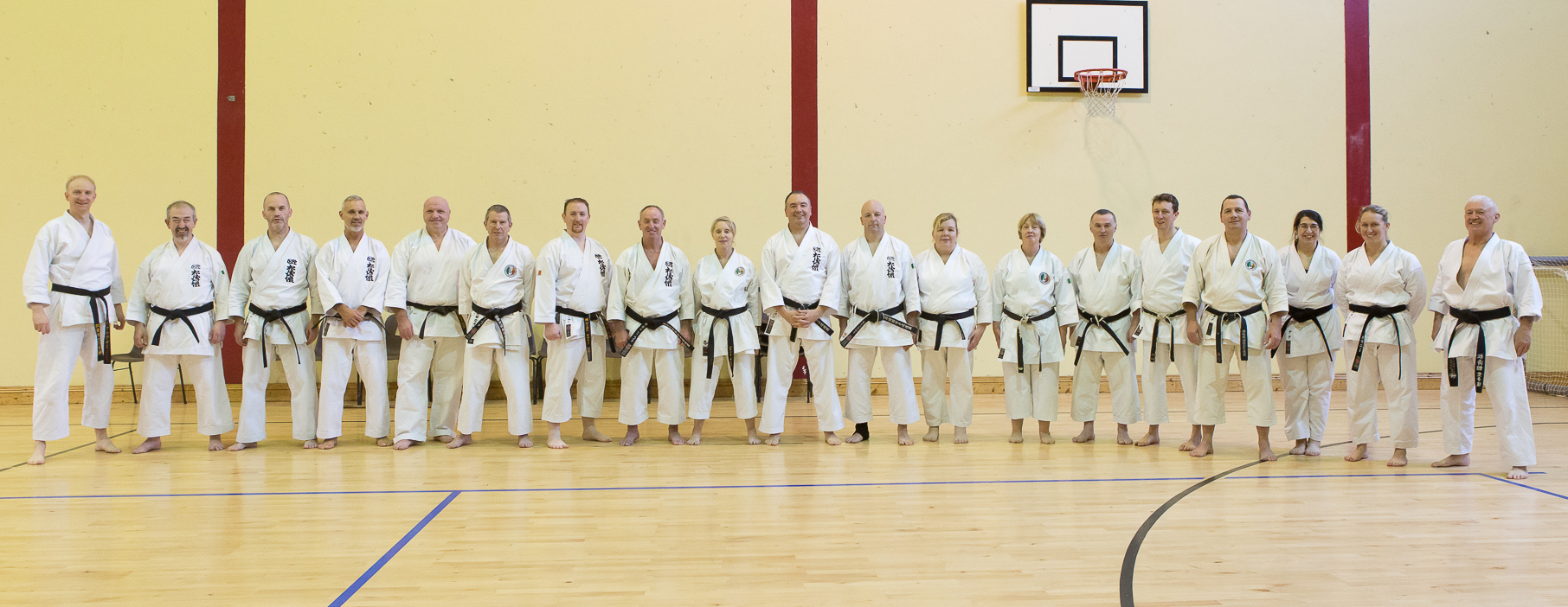2019 - SKIF Ireland Chief Instructor Sensei Ray Payne Instructors Course Photos