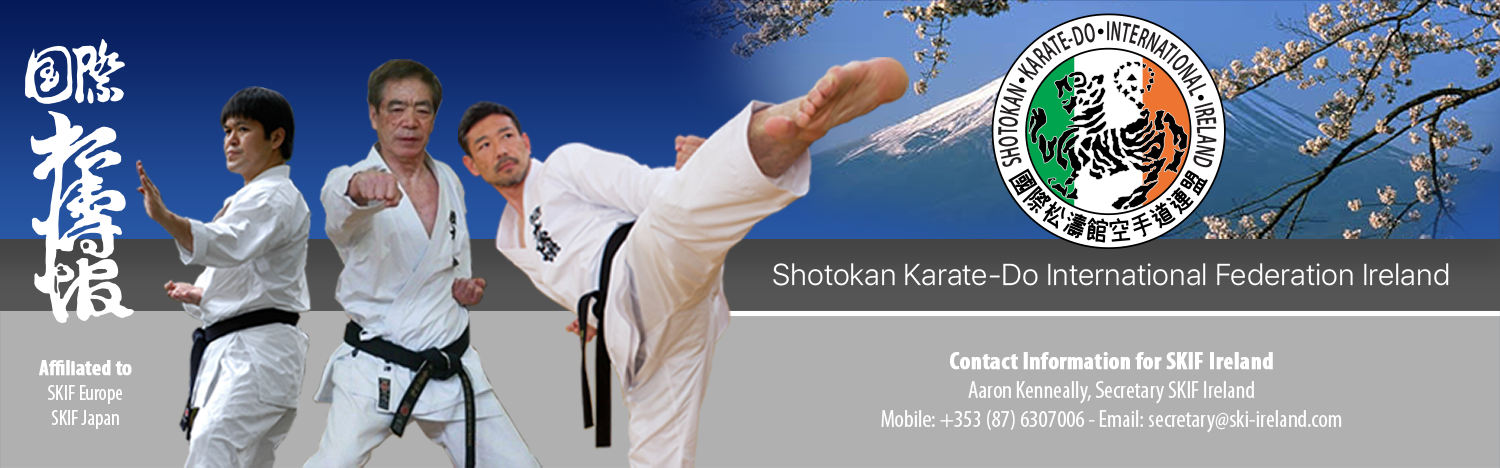 Shotokan Karate-Do International Federation Irealnd