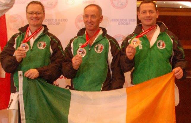 Bronze for Masters Team Kata at 12th SKIF World Championships in Jakarta Indonesia