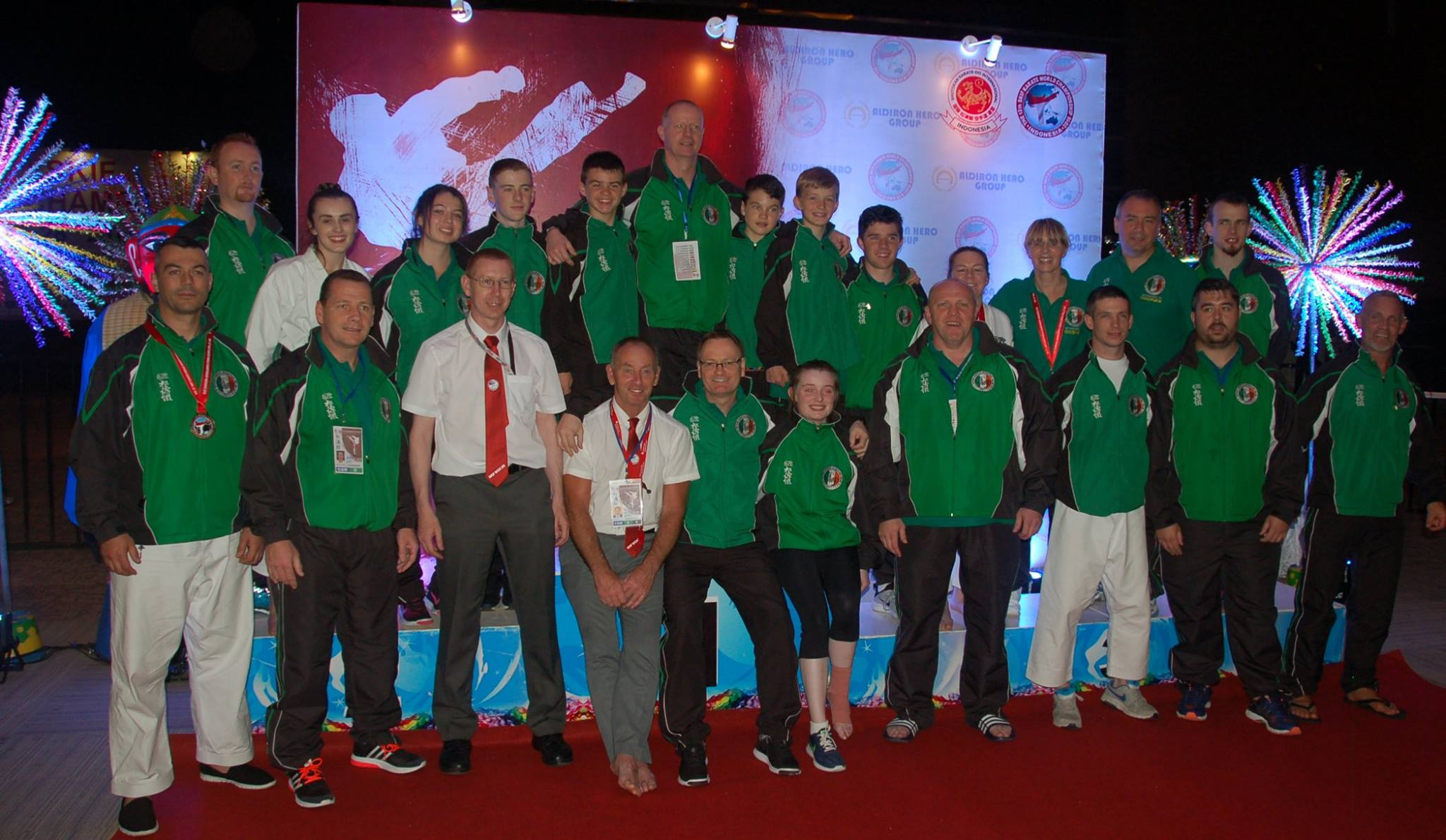 2016 - Ireland win 1xGold, 2xSilver & 6xBronze at SKIF World Championships in Jakarta Indonesia