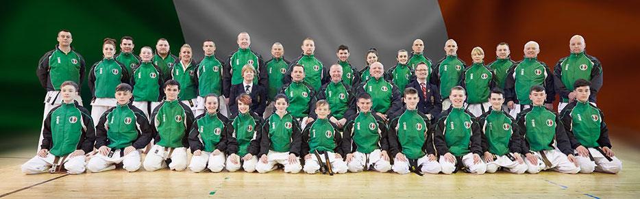 SKIF Ireland European Championships Squad