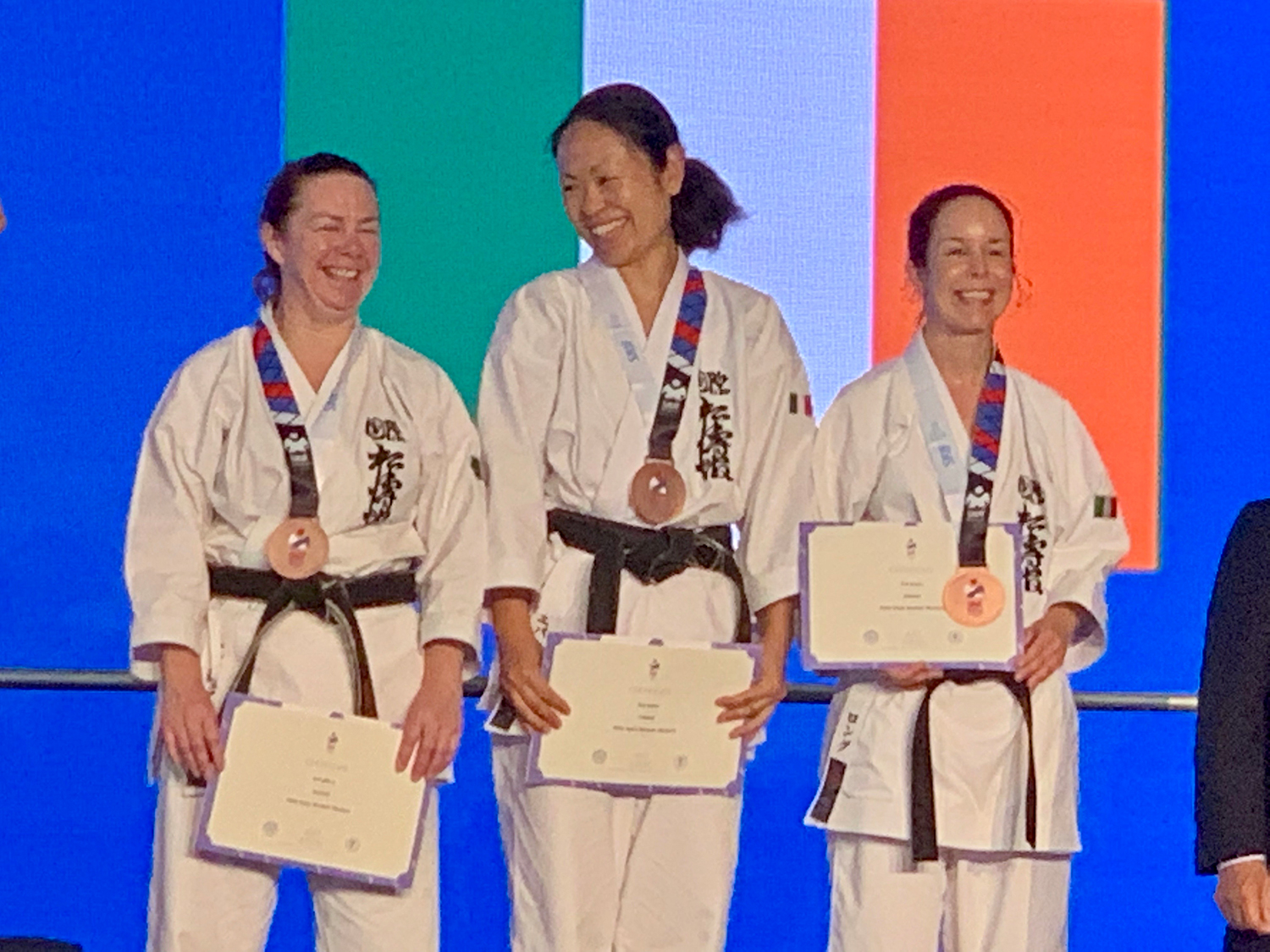 2019 - Bronze for SKIF Ireland Women Masters Team Kata at SKIF World Championships
