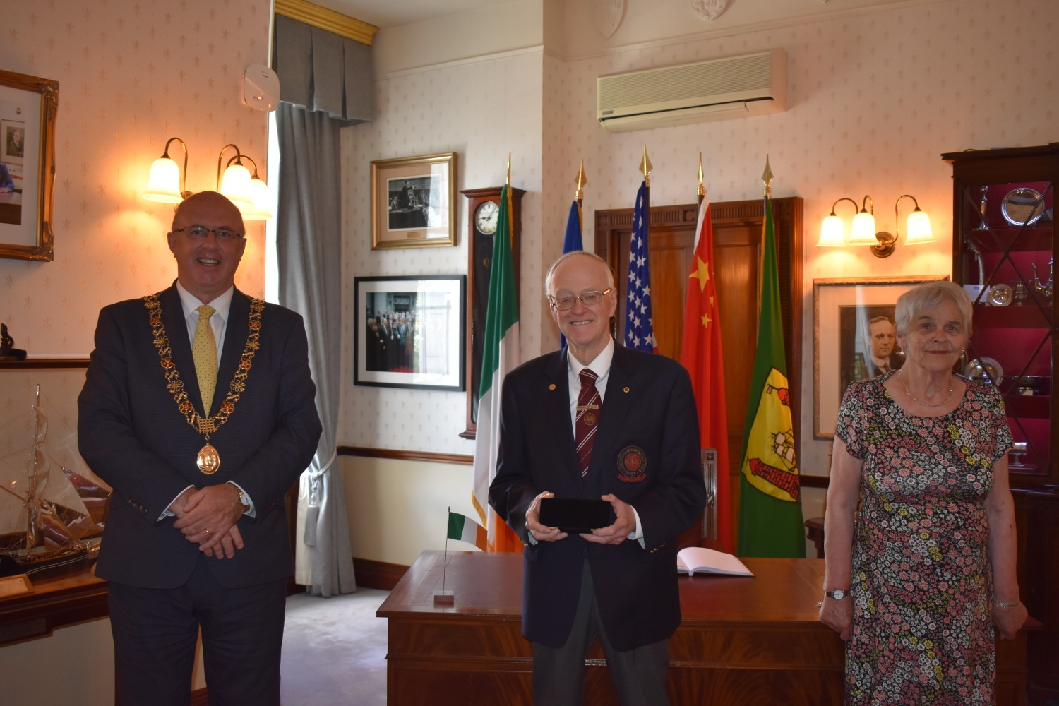 Cork City Hall Recognises Sensei Greg Manning for years of service